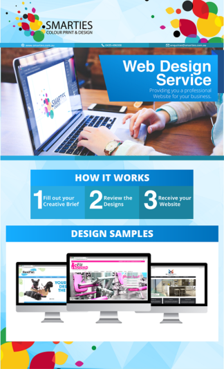WEBSITE DESIGN FLYER