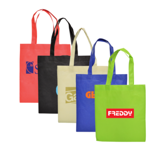 A4 Tote Bag No Gusset Design and Printing Services Australia