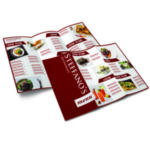 Roll Fold Brochure Design and Printing Services Australia