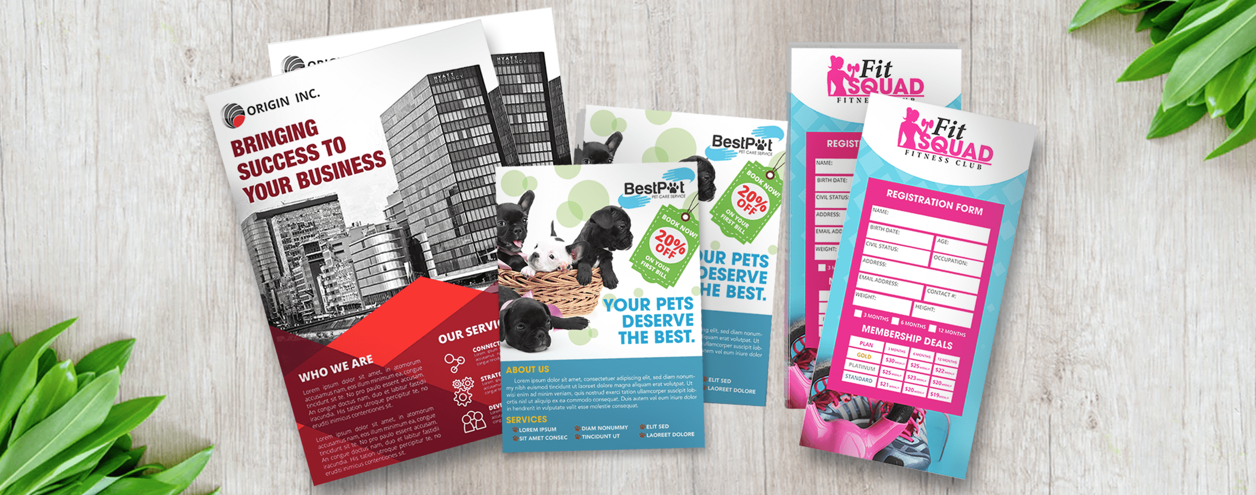 fast flyer printing
