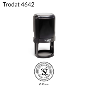 Trodat Stamps Round 42mm