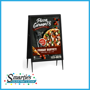 A Frame Display Category Design and Printing Services Australia